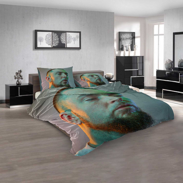 Famous Rapper Jehst v 3D Customized Personalized  Bedding Sets