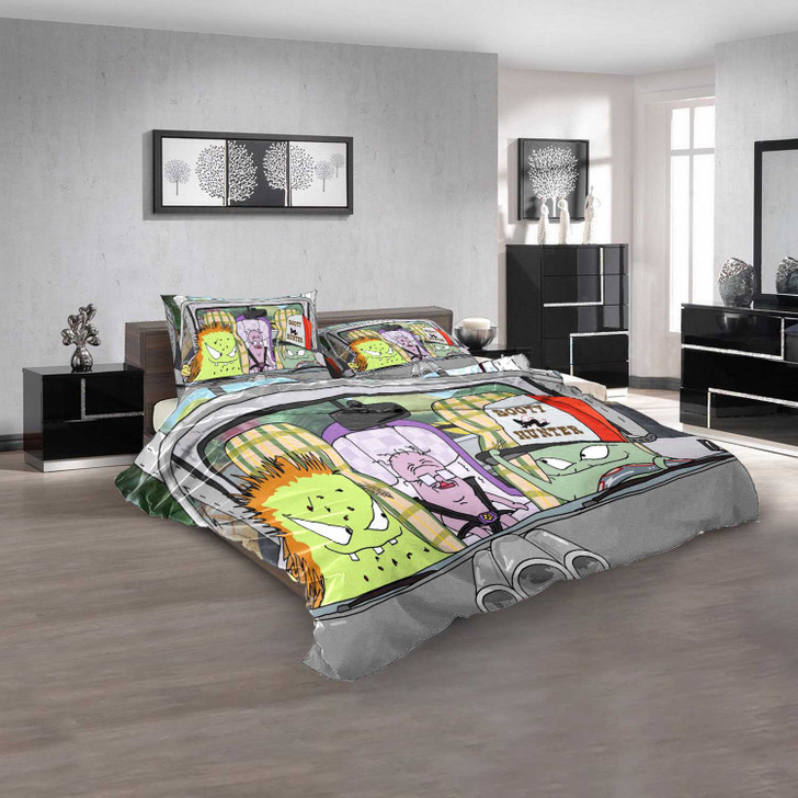 Cartoon Movies Squidbillies N 3D Customized Personalized  Bedding Sets