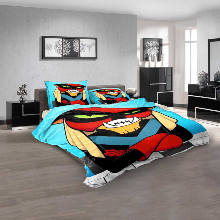 Cartoon Movies Cartoon Planet D 3D Customized Personalized  Bedding Sets