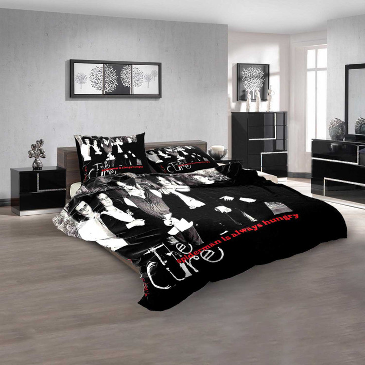 Musical Artists '80s The Cure 3N 3D Customized Personalized  Bedding Sets