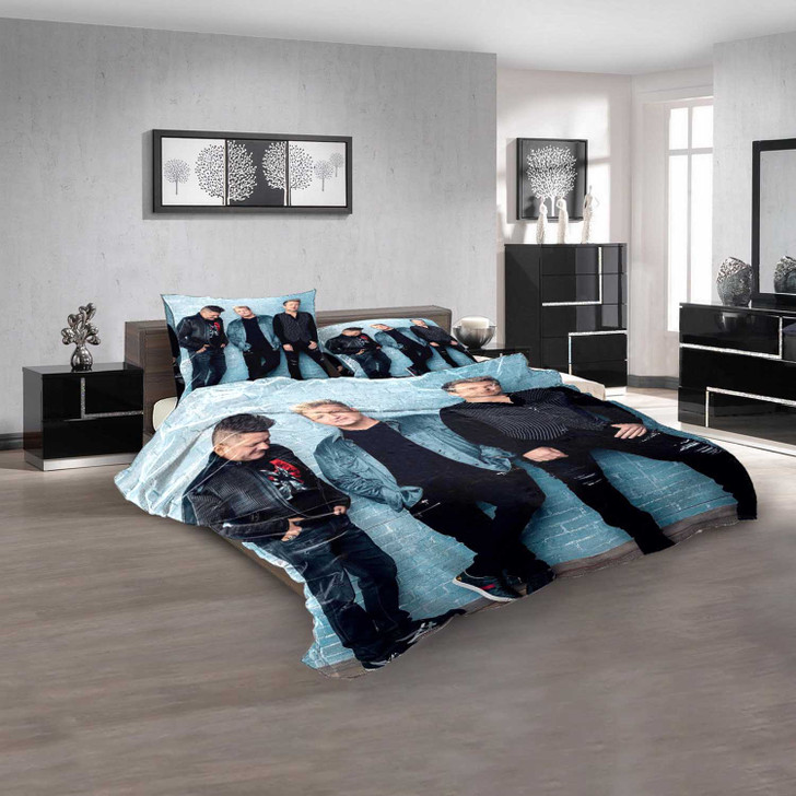 Famous Person Rascal Flatts d 3D Customized Personalized  Bedding Sets