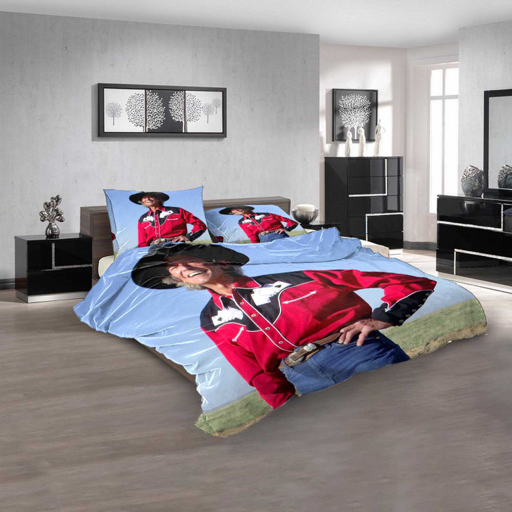 Famous Person Johnny Rodriguez v 3D Customized Personalized  Bedding Sets