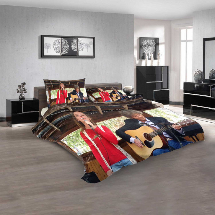 Famous Person Johnny Rodriguez n 3D Customized Personalized  Bedding Sets