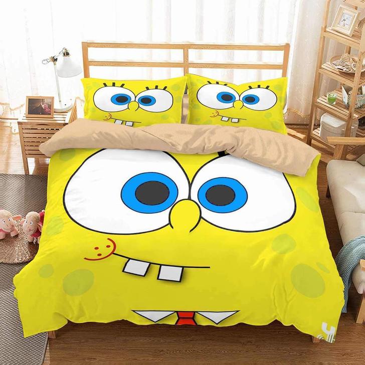 Limited Edition 3d Customize Spongebob Squarepants Bedding Set Duvet Cover Set Bedroom Set Bedlinen