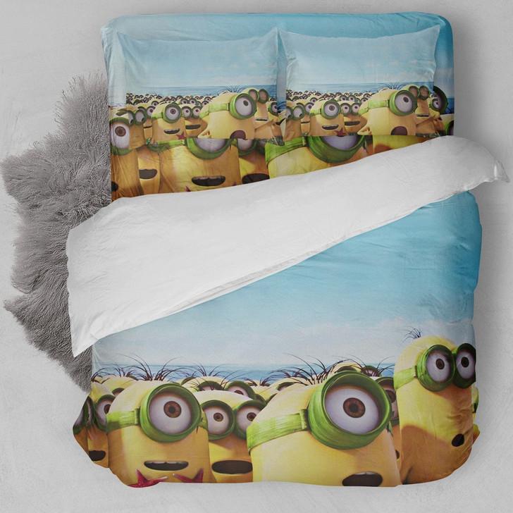 Minions On Island Bedding Set