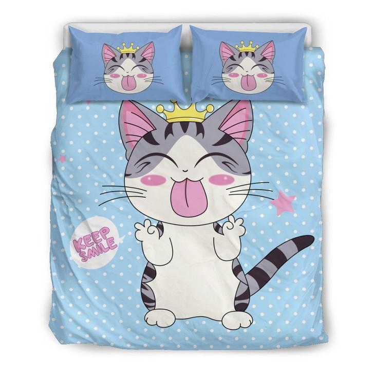 Cat Smile Bedding Set