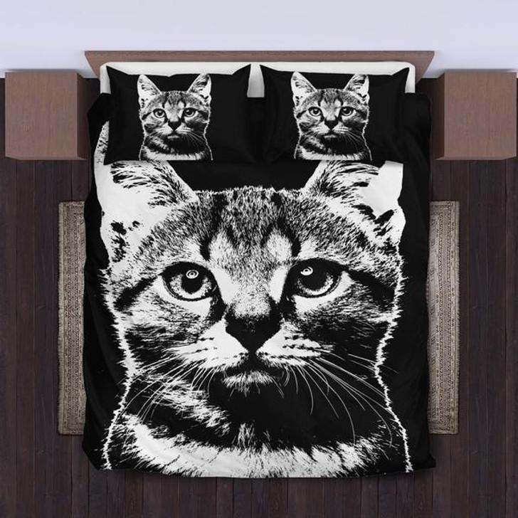 Cute Cat Bedding Set 1