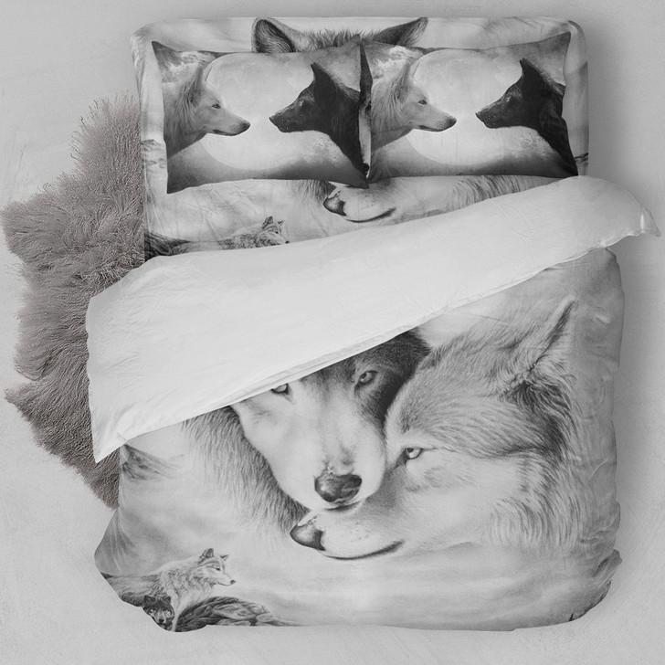 Wolves Couple Bedding Set