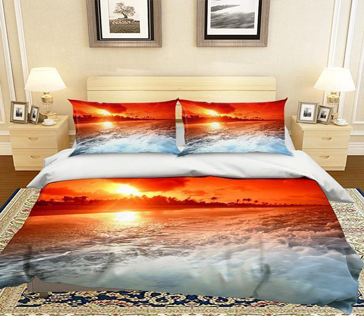 3D Cartoon Dog 265 Bed Pillowcases Quilt