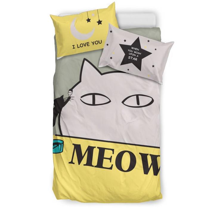 Cat 3D Customize Bedding Set Duvet Cover SetBedroom Set Bedlinen
