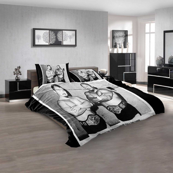 WWE Mr 3D Customized Personalized  Bedding Sets