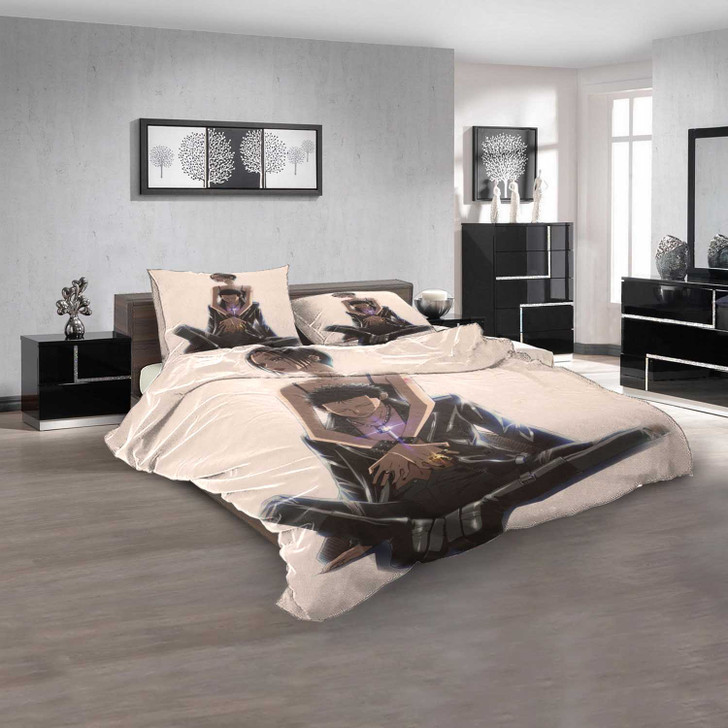 Anime Nana d 3D Customized Personalized Bedding Sets Bedding Sets