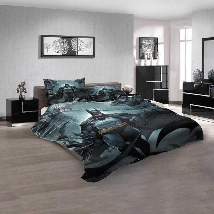 Anime Batman d 3D Customized Personalized Bedding Sets Bedding Sets