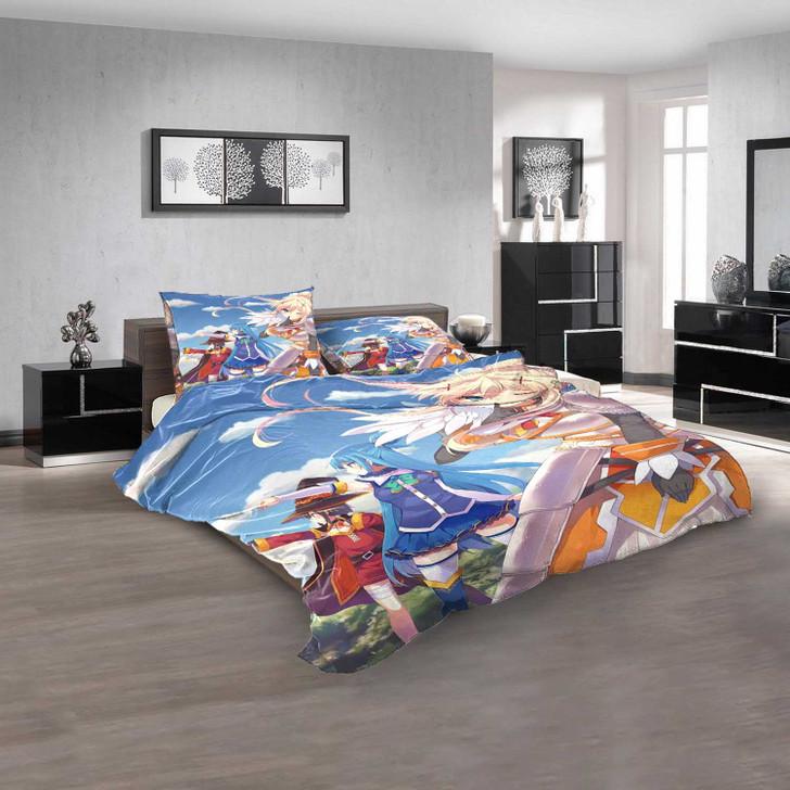 Anime Konosuba d 3D Customized Personalized Bedding Sets Bedding Sets