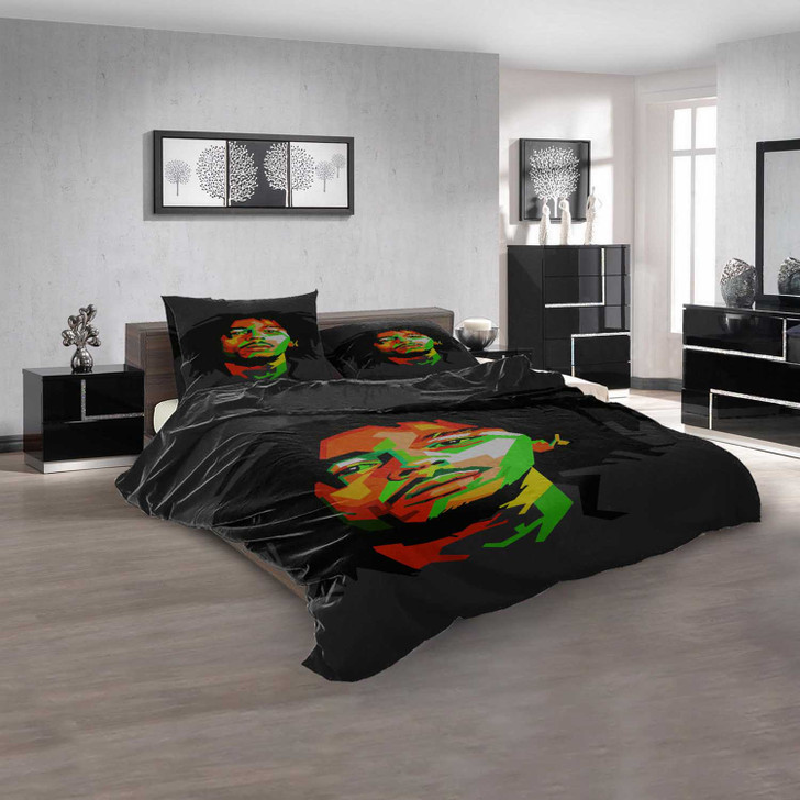 Famous Rapper B 3D Customized Personalized Bedding Sets Bedding Sets