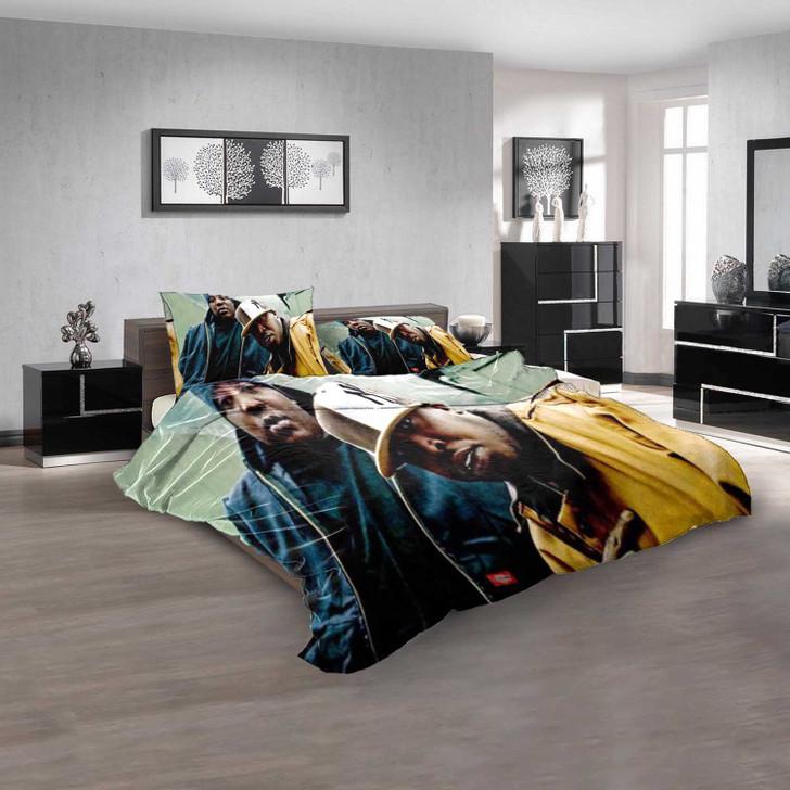 Famous Rapper M 3D Customized Personalized Bedding Sets Bedding Sets