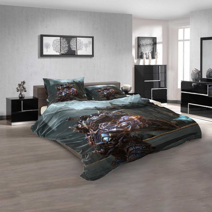 Anime Darksiders d 3D Customized Personalized Bedding Sets Bedding Sets