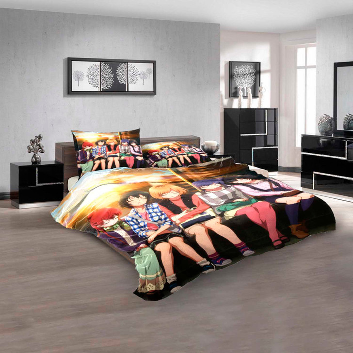 Anime Shirobako d 3D Customized Personalized Bedding Sets Bedding Sets