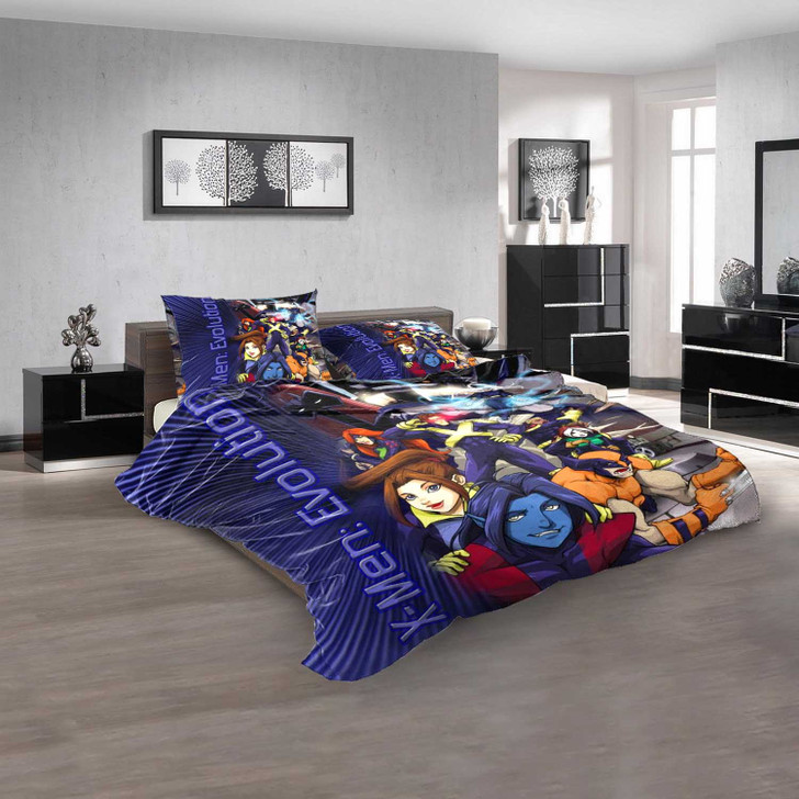 Cartoon Movies X-Men  Evolution V 3D Customized Personalized Bedding Sets Bedding Sets