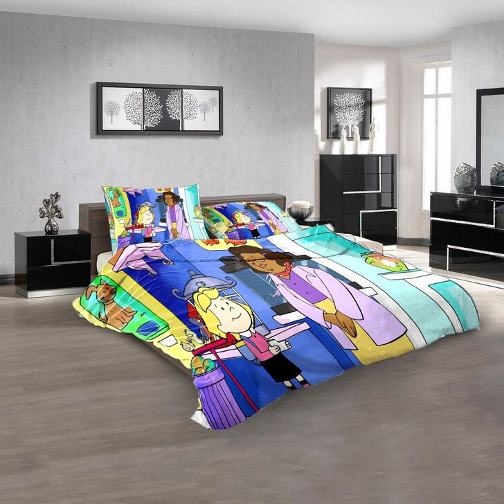 Cartoon Movies Clifford's Puppy Days n 3D Customized Personalized Bedding Sets Bedding Sets