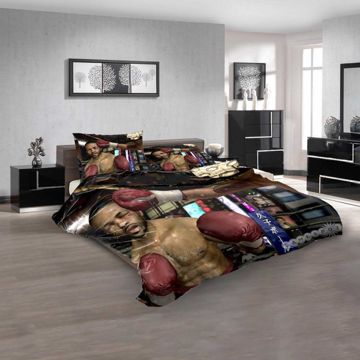 Fight Night 2004 PS2 GAME V 3D Customized Personalized Bedding Sets Bedding Sets