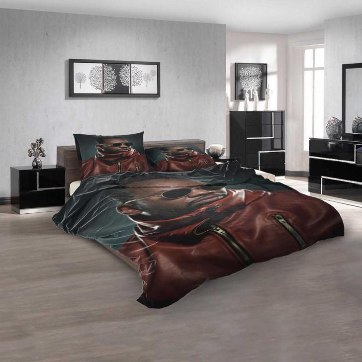 Famous Rapper Raekwon d 3D Customized Personalized Bedding Sets Bedding Sets
