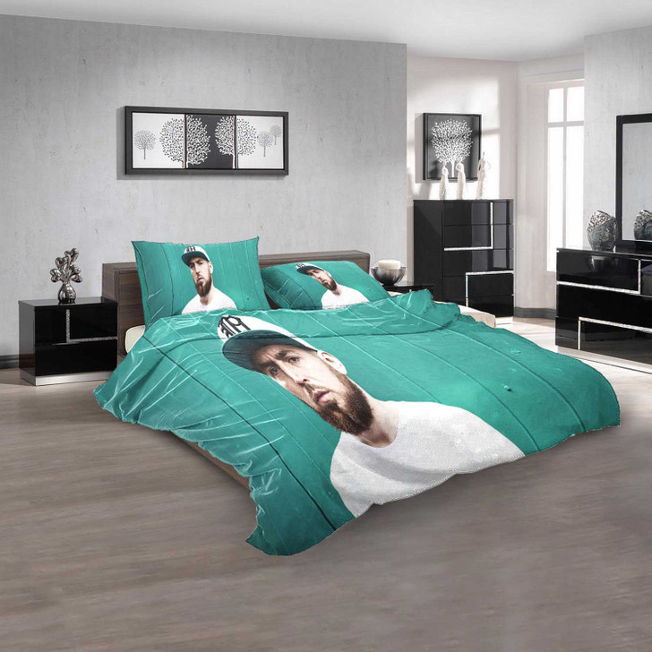 Famous Rapper Jehst n 3D Customized Personalized Bedding Sets Bedding Sets