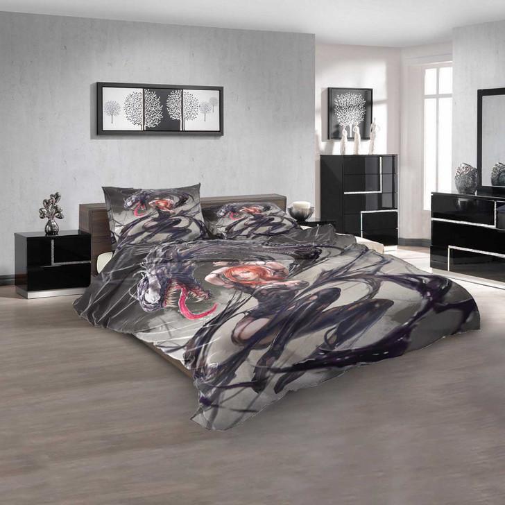 Anime Venom d 3D Customized Personalized Bedding Sets Bedding Sets