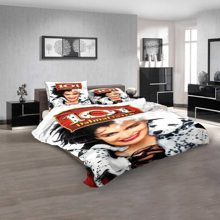 Disney Movies 101 Dalmatians (1996 Film) d 3D Customized Personalized Bedding Sets Bedding Sets
