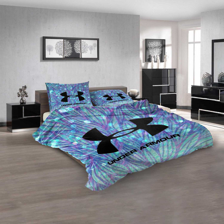 Luxury Brand Under Armour V 3D Customized Personalized  Bedding Sets