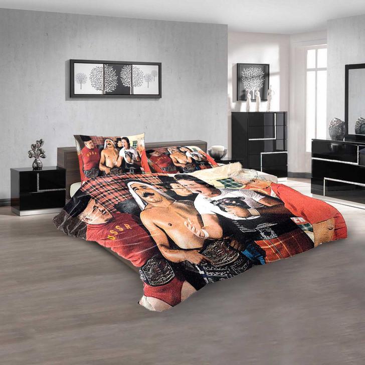 WWE Nikolai Volkoff & The Iron Sheik N 3D Customized Personalized  Bedding Sets