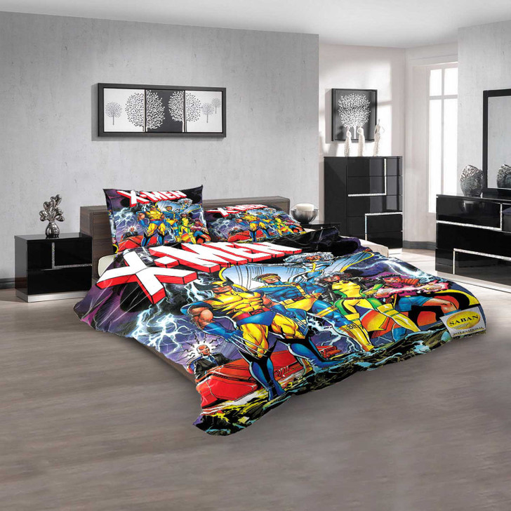 Cartoon Movies X-Men Evolution D 3D Customized Personalized  Bedding Sets