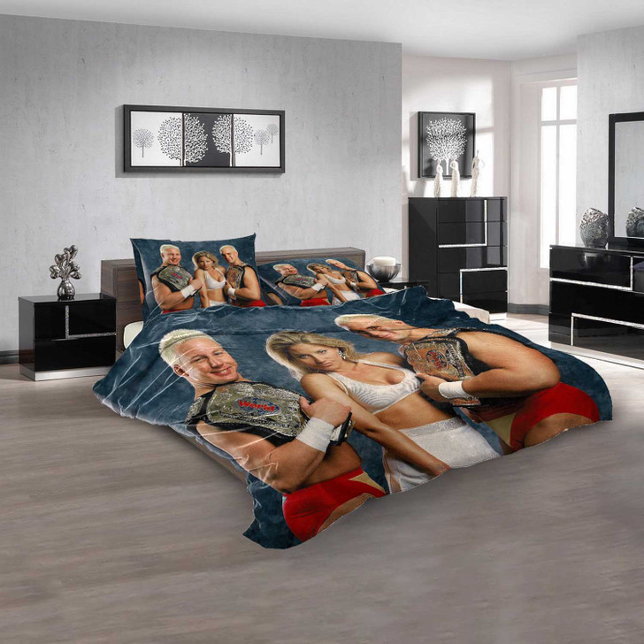 WWE The Bodydonnas V 3D Customized Personalized  Bedding Sets