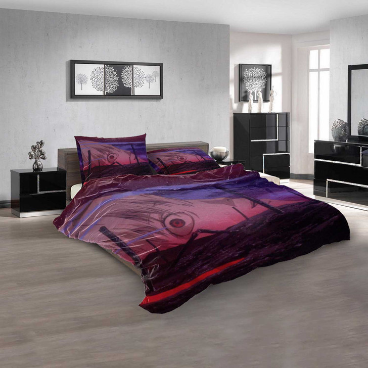 Netflix Movie The End of Evangelion v 3D Customized Personalized  Bedding Sets