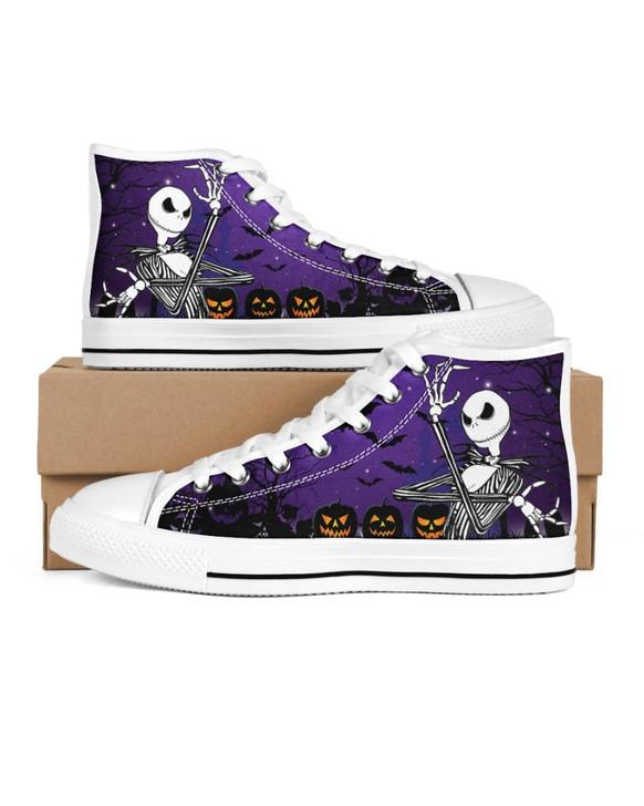 Halloween Jack Skellington High Top Shoes