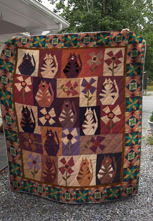 Cat big quilt On Sale! Design By Dalabshop.com