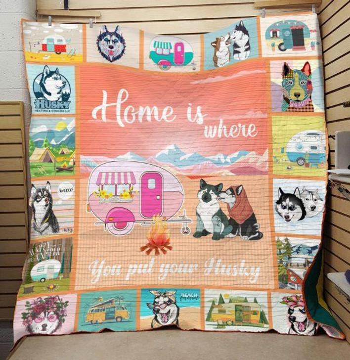 Husky Quilt On Sale! Design By Dalabshop.com