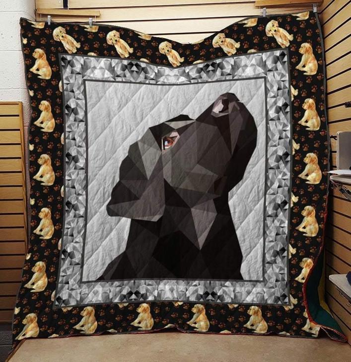 Labrador Dog Quilt Blanket 1 on Sale Now Design By Dalabshop.com