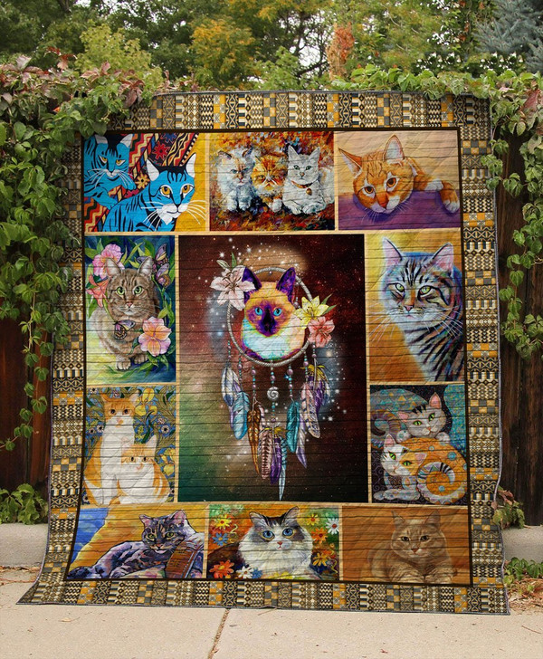 VB-Cat quilt On Sale! Design By Dalabshop.com