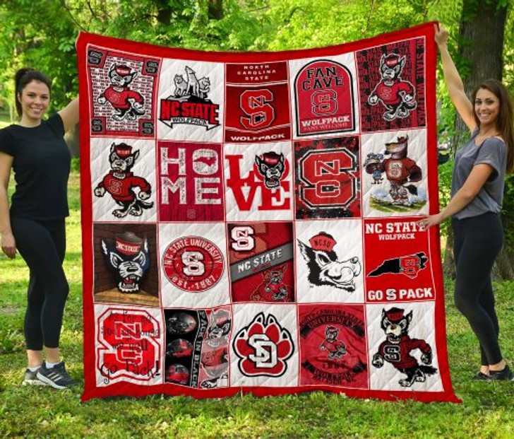 NCAA Northern Colorado Bears 3D Customized Personalized Quilt Blanket #1514 Design By Dalabshop.com