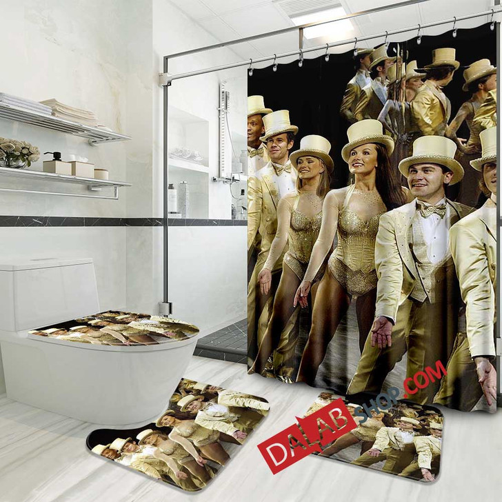 A Chorus Line Broadway Show D 3D Customized Personalized Bathroom Sets