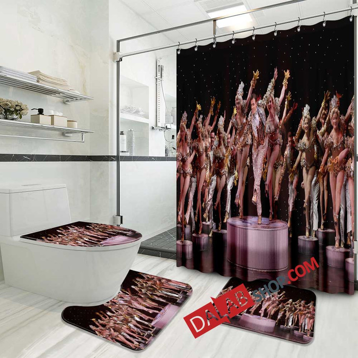 42nd Street Broadway Show N 3D Customized Personalized Bathroom Sets