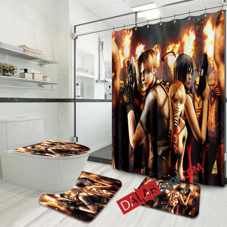 Aggressive Inline PS2 GAME N 3D Customized Personalized Bathroom Sets