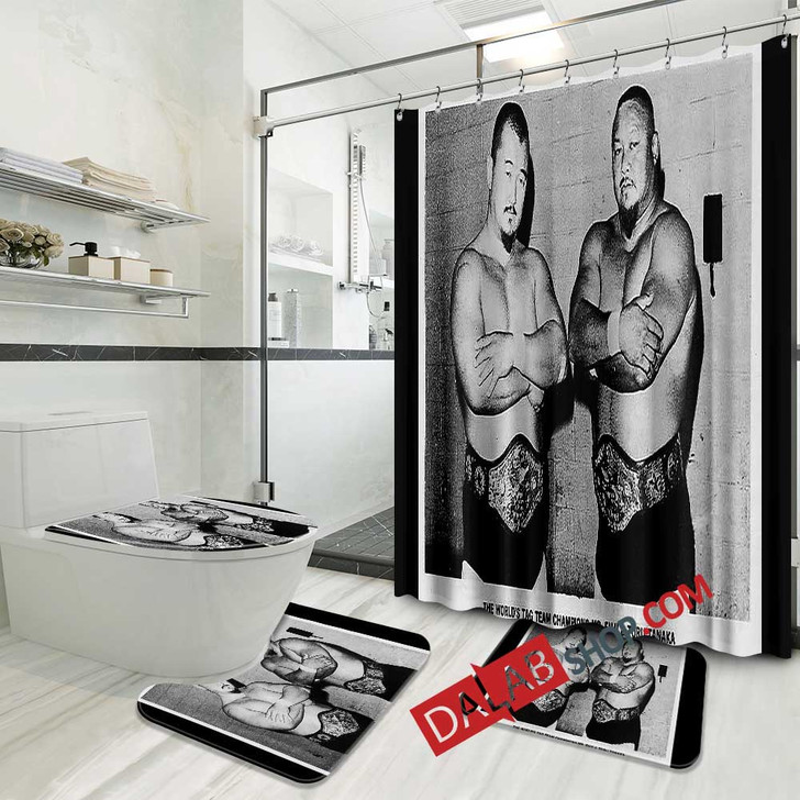 WWE Mr 3D Customized Personalized Bathroom Sets