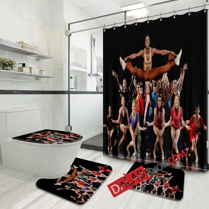 A Chorus Line Broadway Show N 3D Customized Personalized Bathroom Sets
