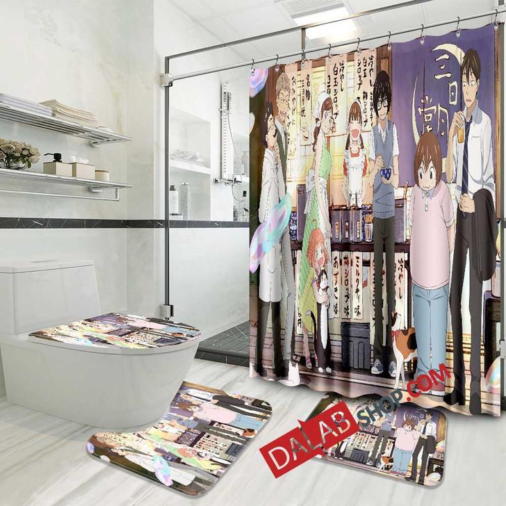 Anime 3-gatsu no Lion 2nd Season n 3D Customized Personalized Bathroom Sets