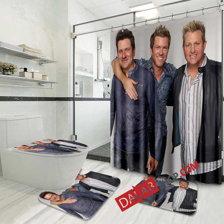 Famous Person Rascal Flatts v 3D Customized Personalized Bathroom Sets