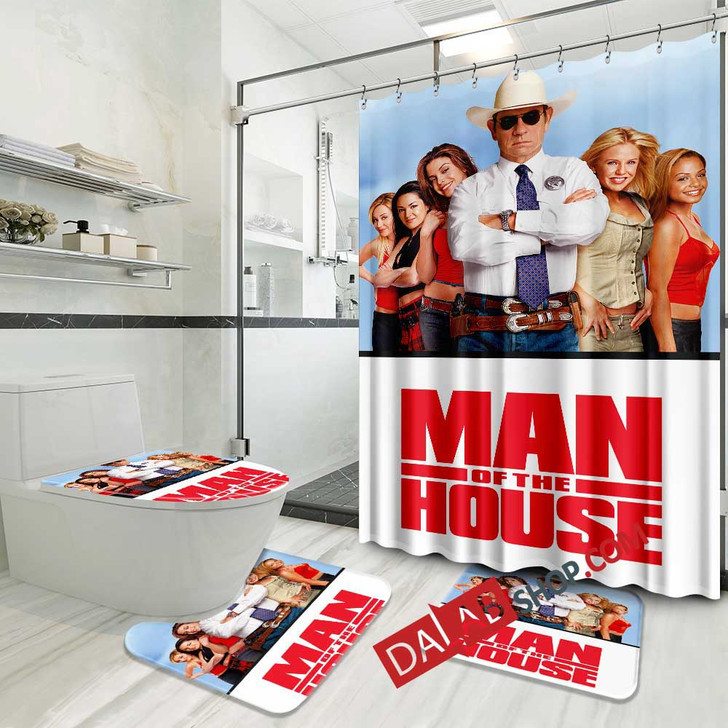 Disney Movies Man of the House d 3D Customized Personalized Bathroom Sets