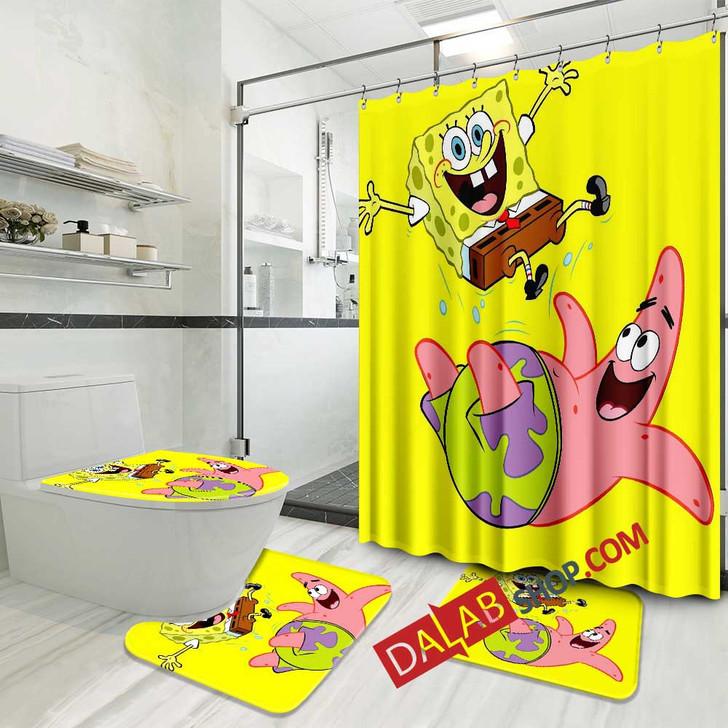 Cartoon Movies SpongeBob SquarePants V 3D Customized Personalized Bathroom Sets