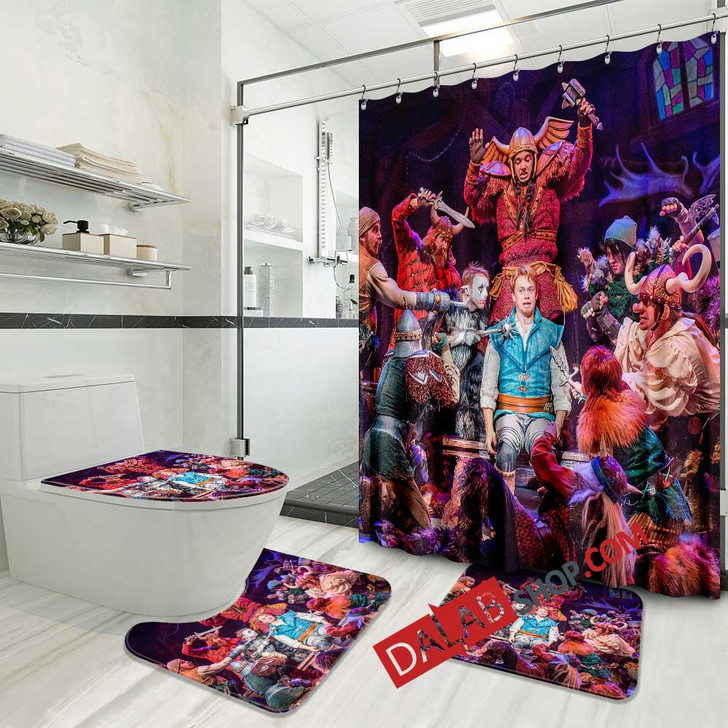 The Magic Show Broadway Show V 3D Customized Personalized Bathroom Sets